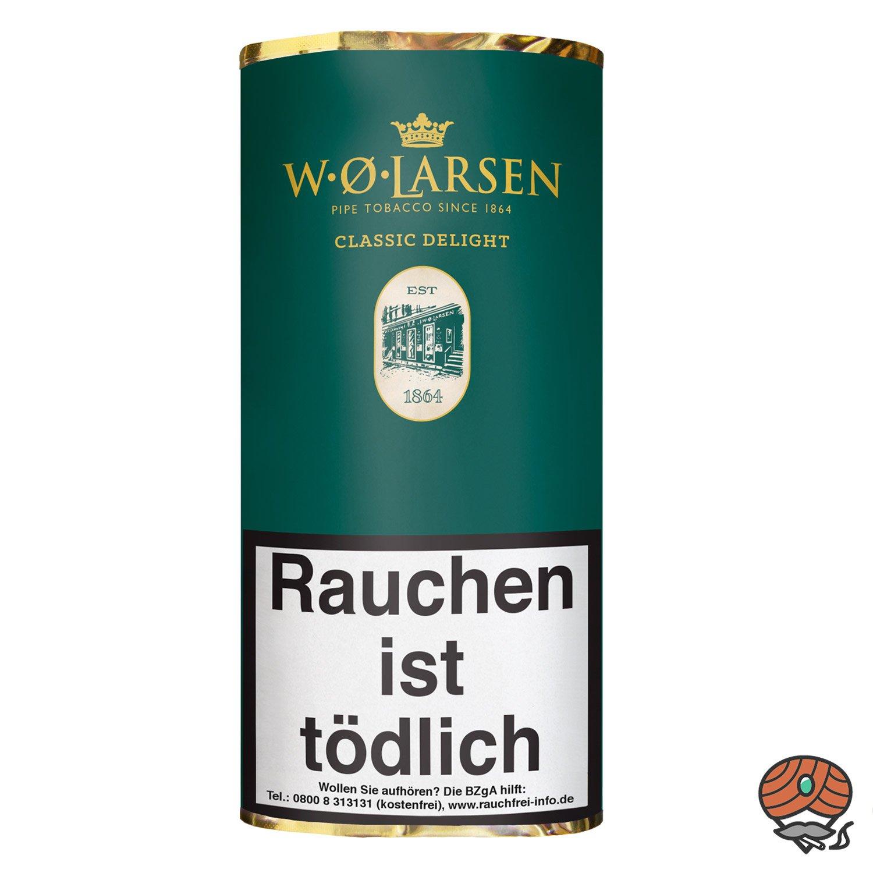 W.Ø. LARSEN Classic Delight Pfeifentabak 50g Pouch / Beutel