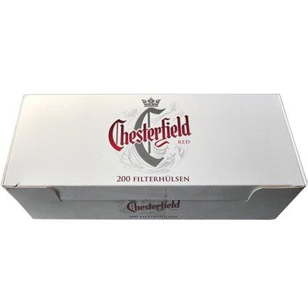 Chesterfield Red Filterhülsen