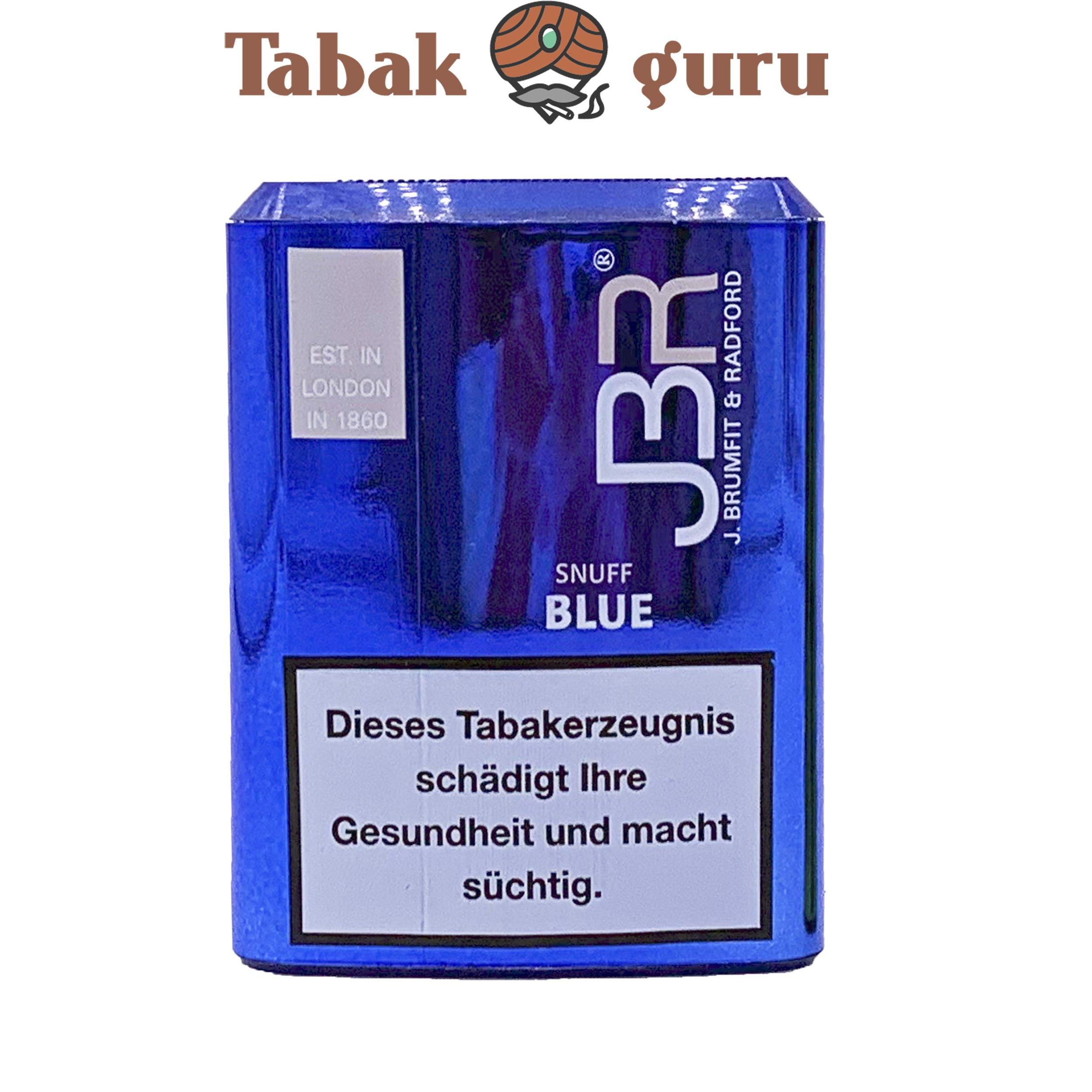 JBR Blue Snuff Schnupftabak