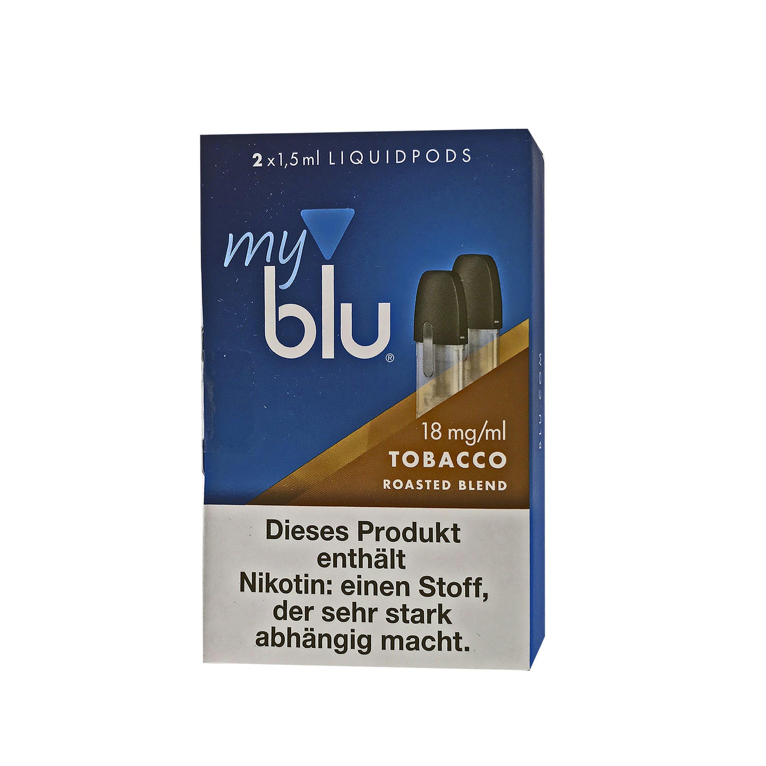 My Blu Liquid Pods Tobacco Roasted Blend 18 mg/ml Nikotin
