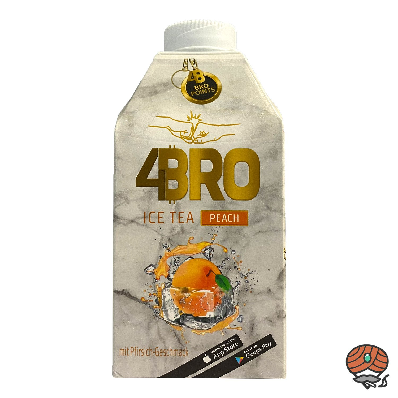 4 x 4BRO ICE TEA Eistee 500 ml PROBIERSET