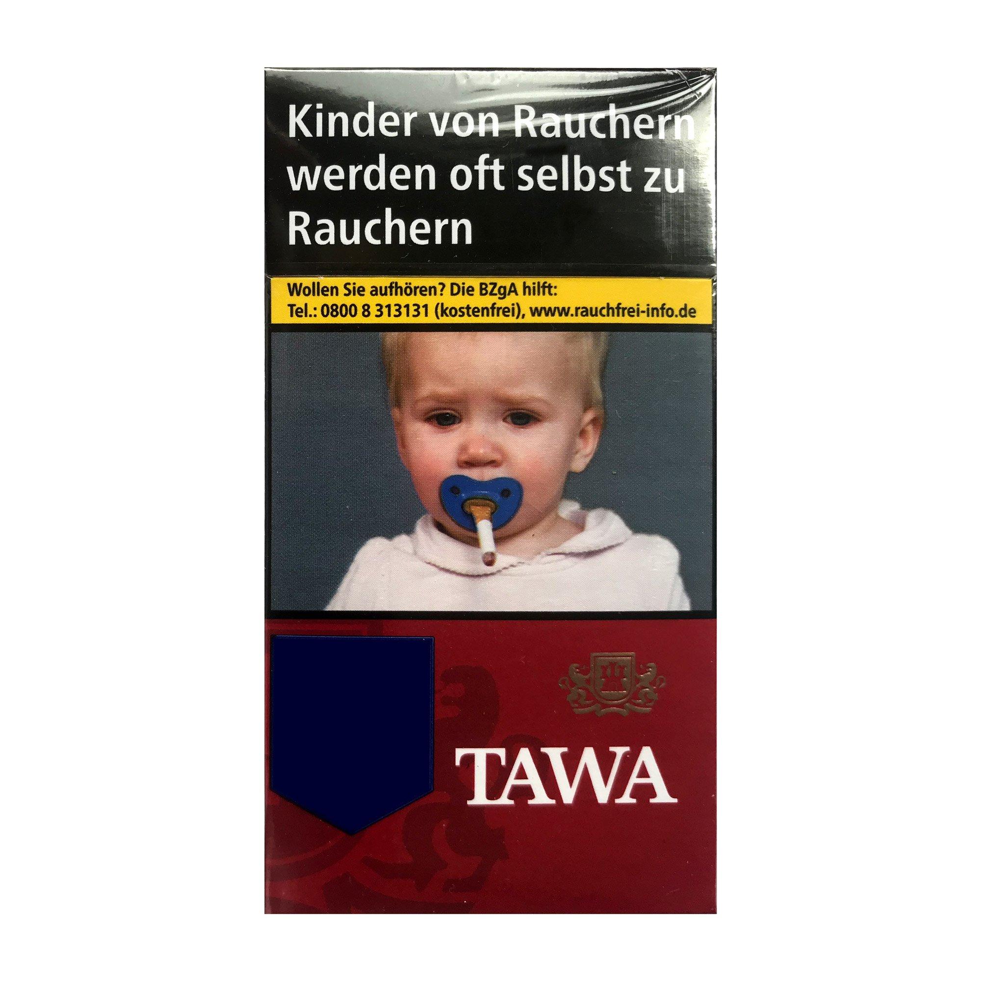 Tawa Red / Rot Long 100 Zigaretten - 20 Stück