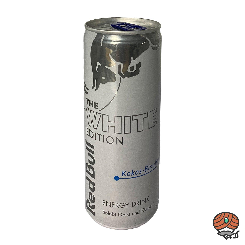 Red Bull Energy Drink THE WHITE EDITION, Kokos-Blaubeere, 250 ml Dose
