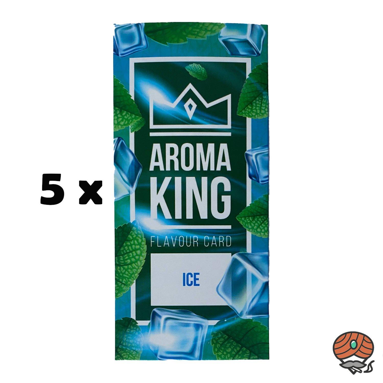 5 x Aromakarte ICE von Aroma King - Aroma für Tabak & Zigaretten