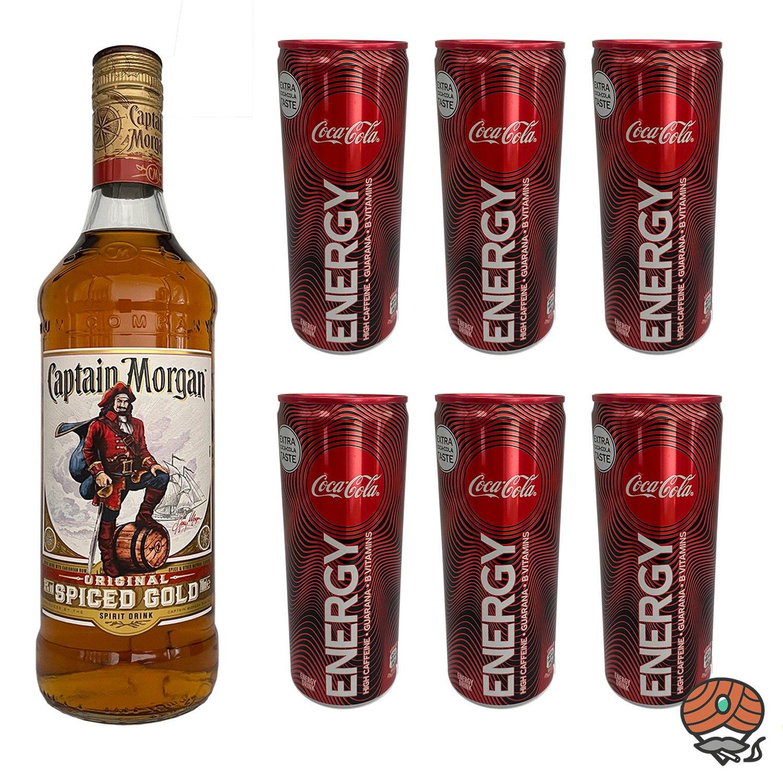 Captain Morgan Original Rum Coca Cola Energy Online Bestellen