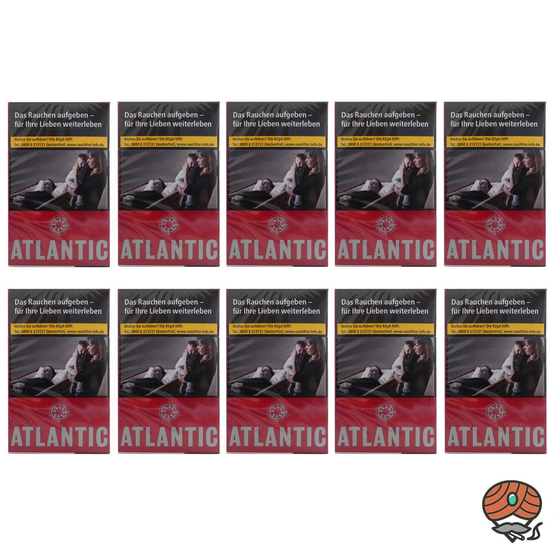 1 Stange Atlantic Red Filterzigaretten 10 x 20 Stück