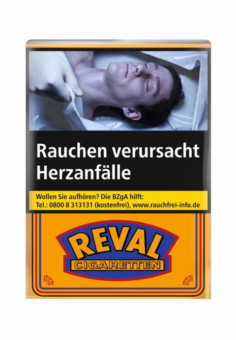 Reval Zigaretten 20 Stück ohne Filter Soft Pack