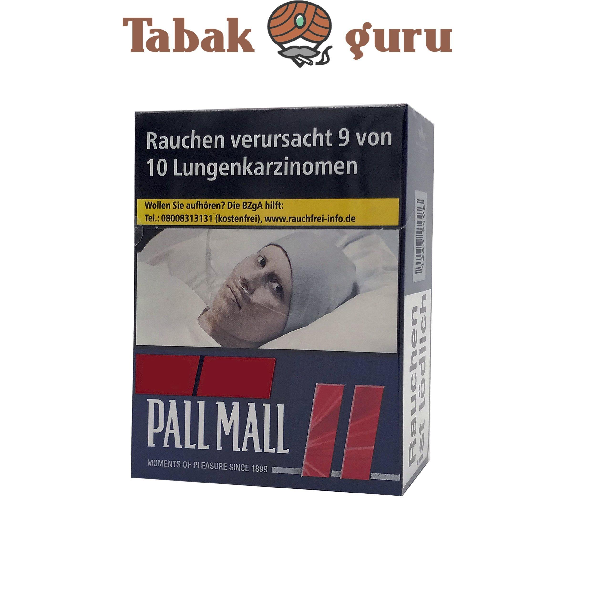 Pall Mall Red / Rot Zigaretten XXL Schachtel 25 Stück