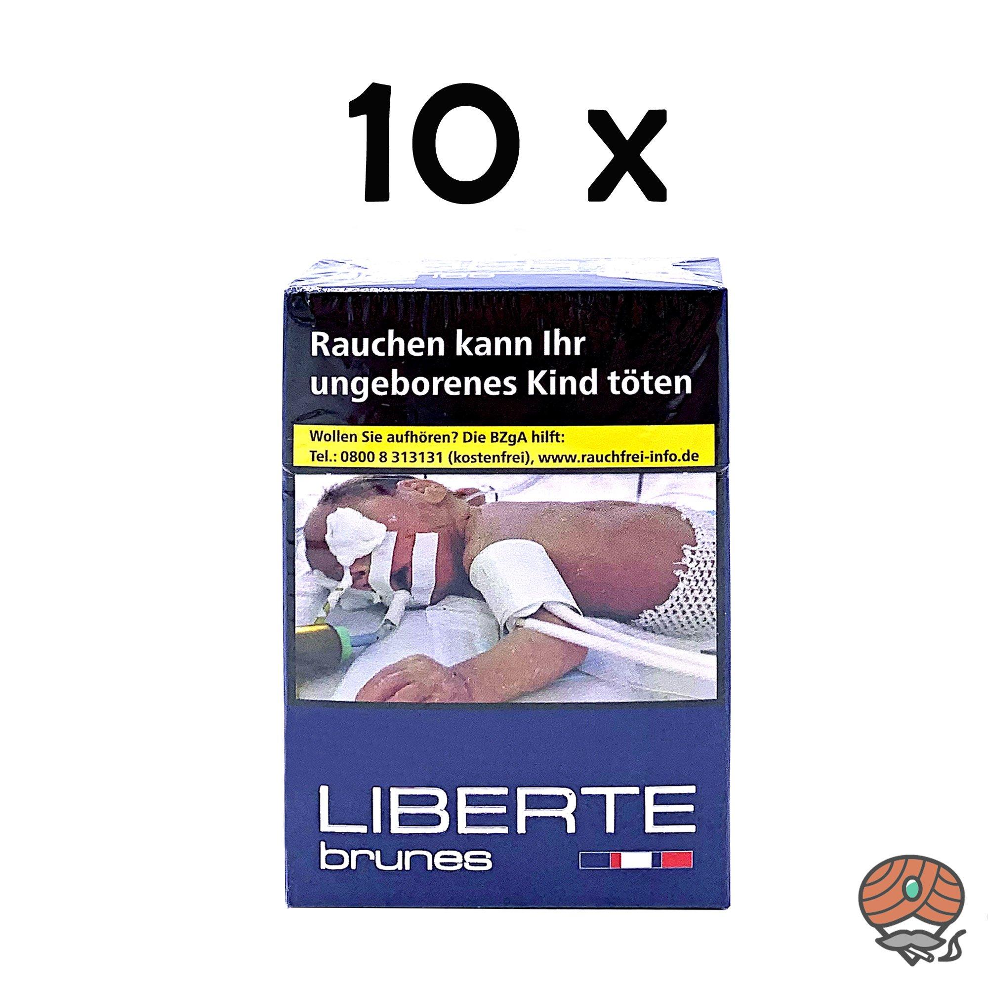 Stange La Devise Un brunes - Liberté Zigaretten