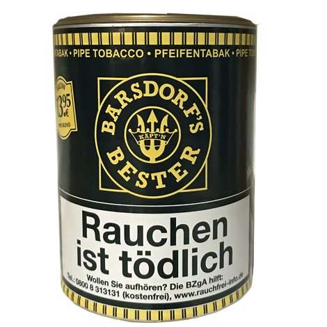 Barsdorf´s Bester Fine Flavor Yellow Blend Pfeifentabak 160g Dose