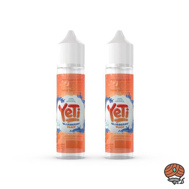 2 x YeTi Longfill Aroma Blueberry Peach 15 ml