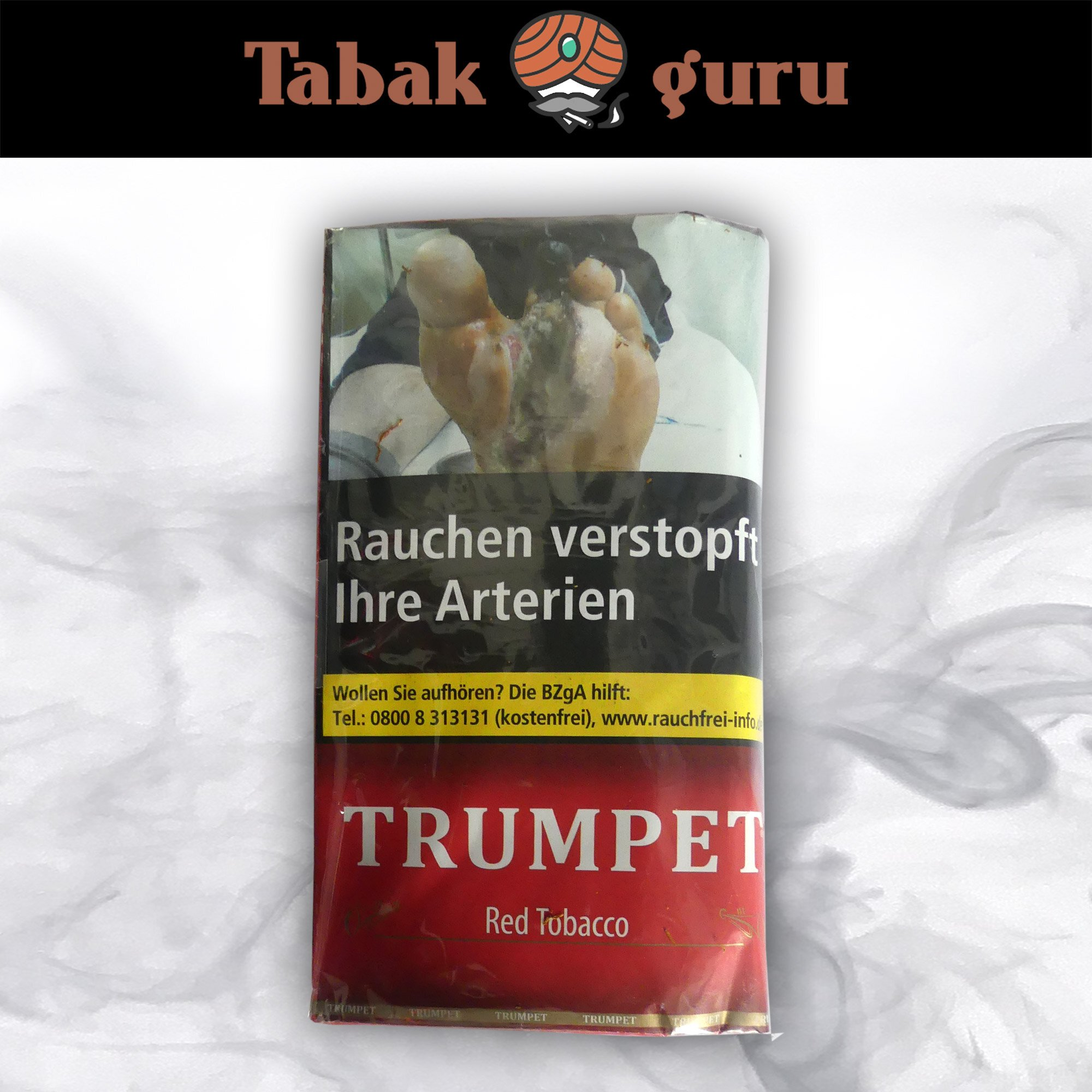Trumpet Red Tobacco Drehtabak 38 g