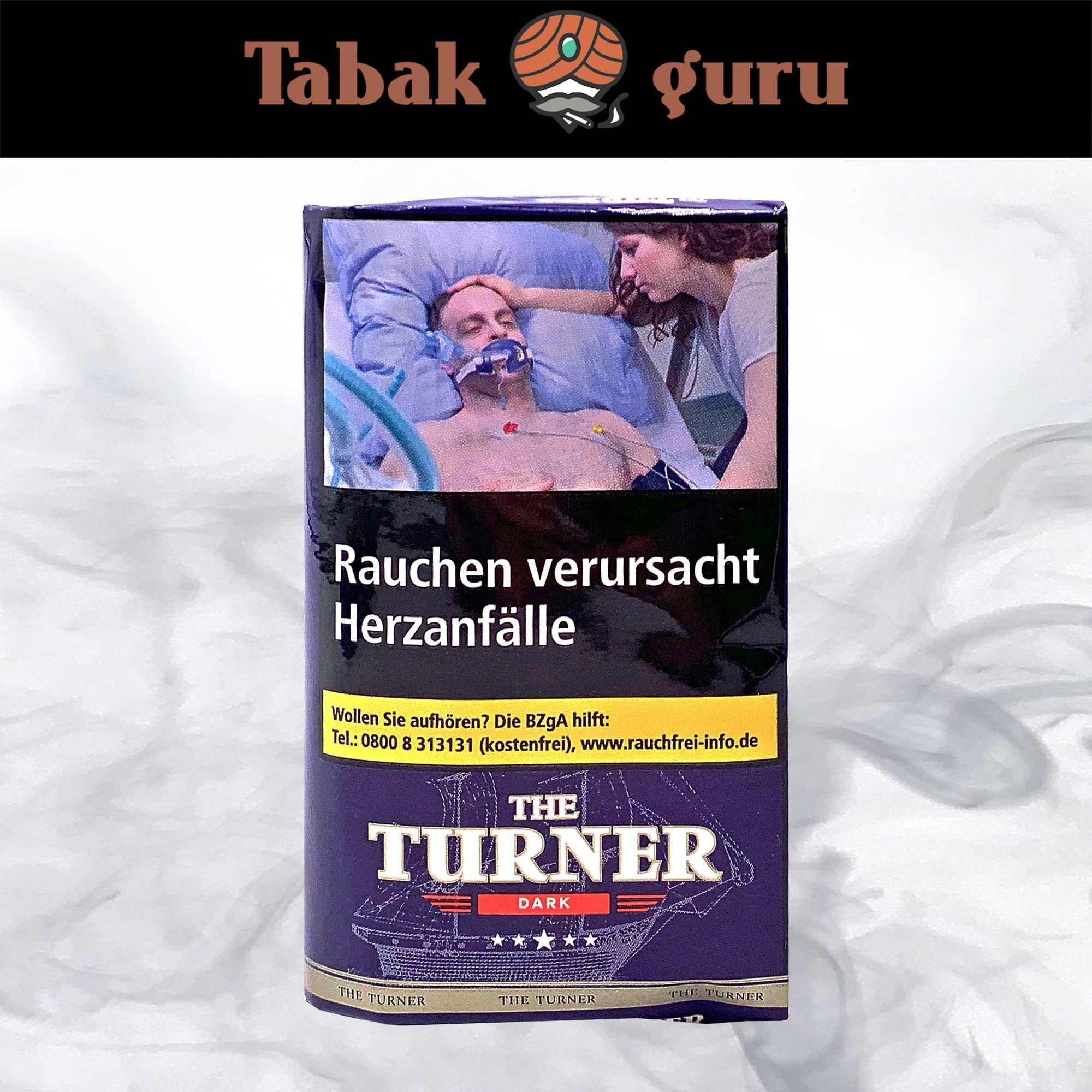 The Turner Dark Drehtabak Pouch 40 g