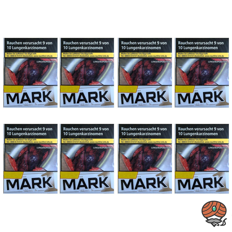 1 Stange Mark Adams No. 1 / Mark1 Gold Zigaretten Big Pack 8x25 Stück