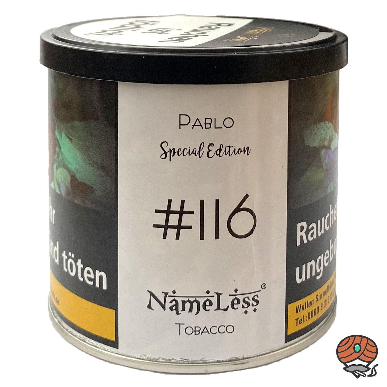 NameLess Pablo - #116 - 200 g Shisha Tabak