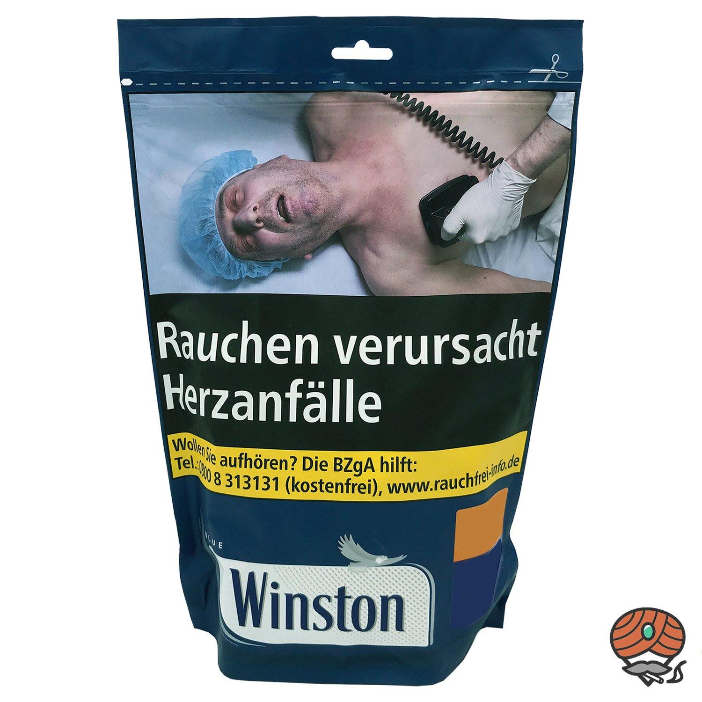 Winston Blue / Blau Volumentabak 135 g Beutel