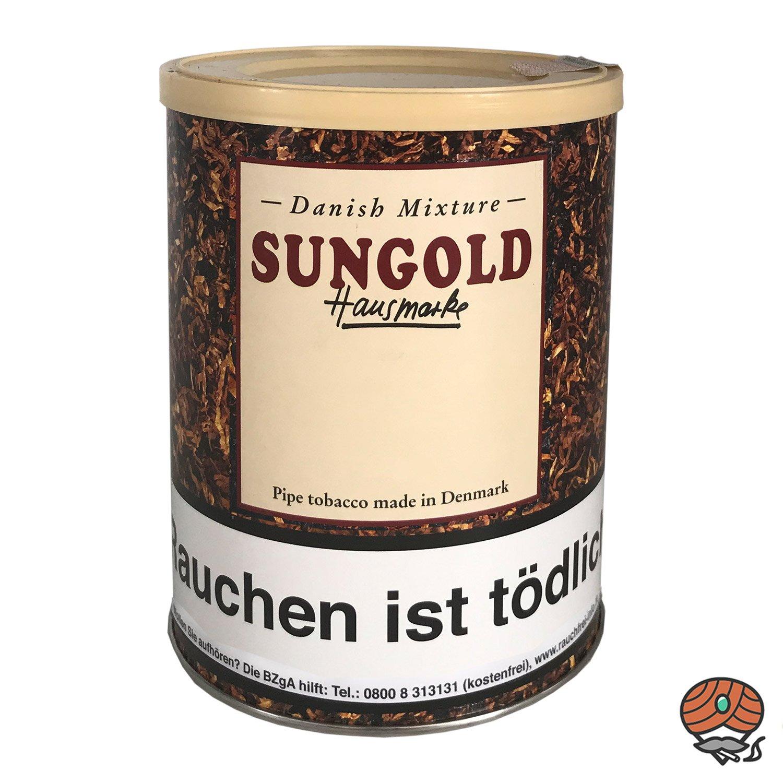 Danish Mixture Hausmarke Sungold Pfeifentabak 200g Dose