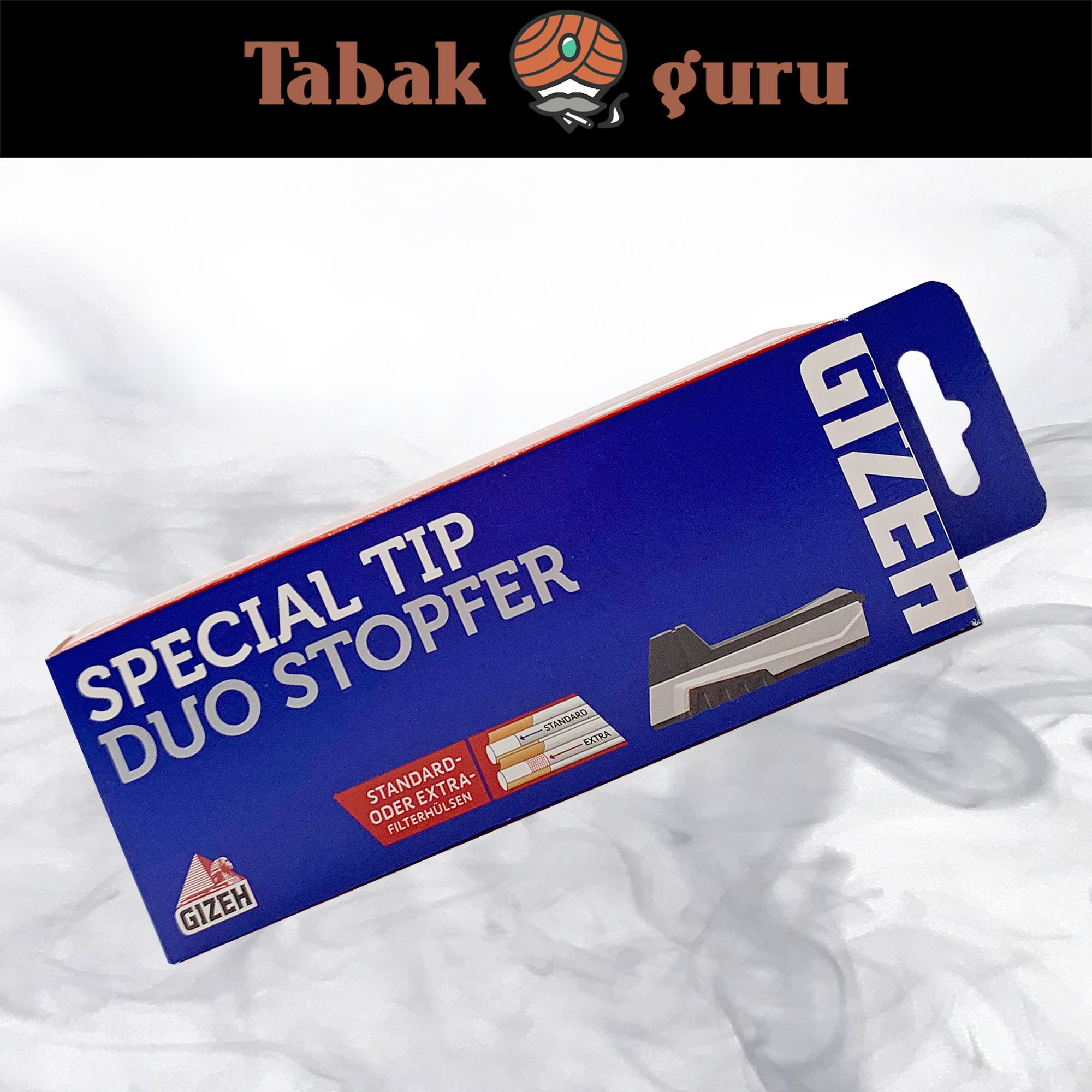 Gizeh Special Tip Duo Stopfer