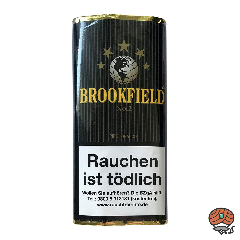 Brookfield No. 2 Aromatic Blend Pfeifentabak 50g Pouch