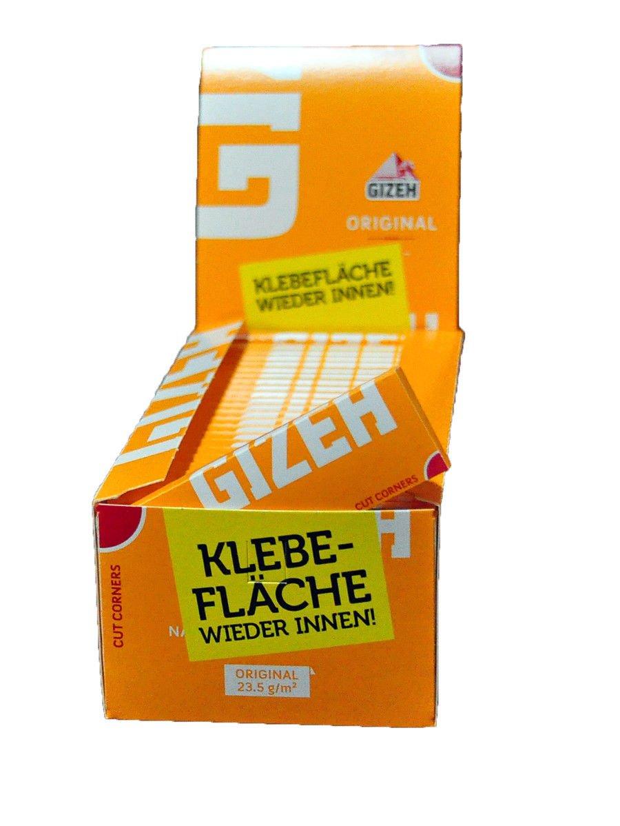 Gizeh Original Orange Blättchen 50 Hefte à 50 Blatt