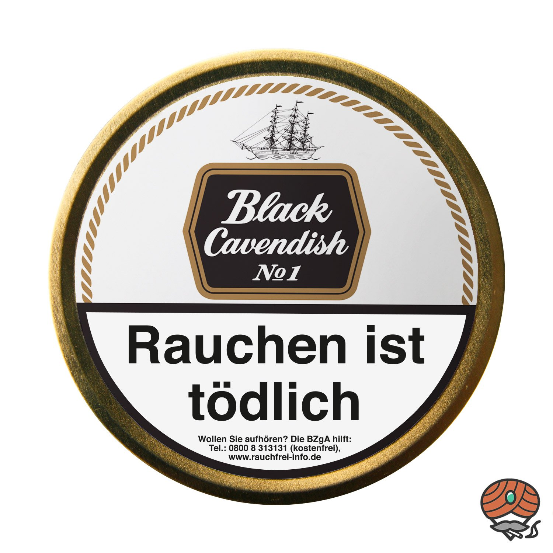 Black Cavendish No.1 Pfeifentabak 100g Dose