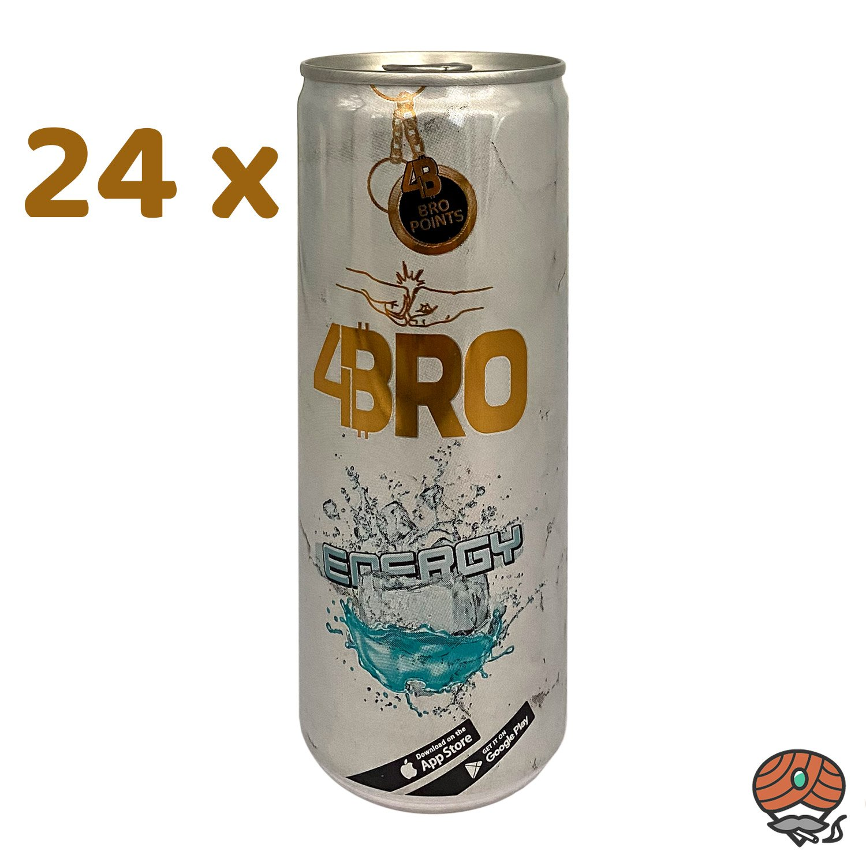 24 x 4BRO Energy Drink ENERGY à 250 ml (inkl. Pfand)