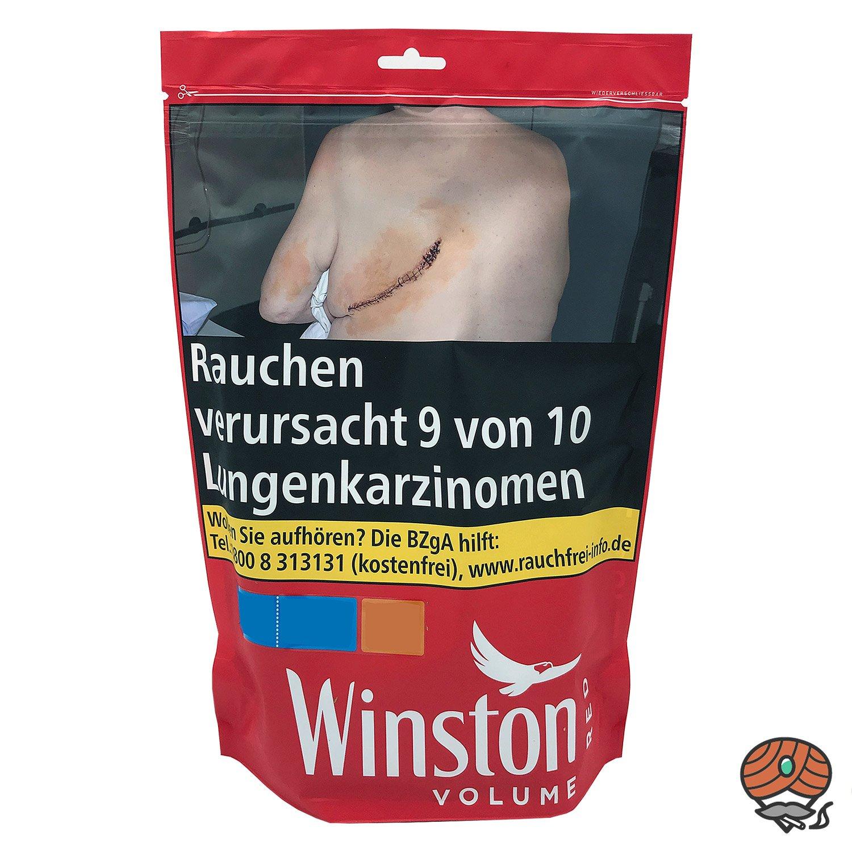 Winston Red / Rot Volumentabak 135 g Beutel