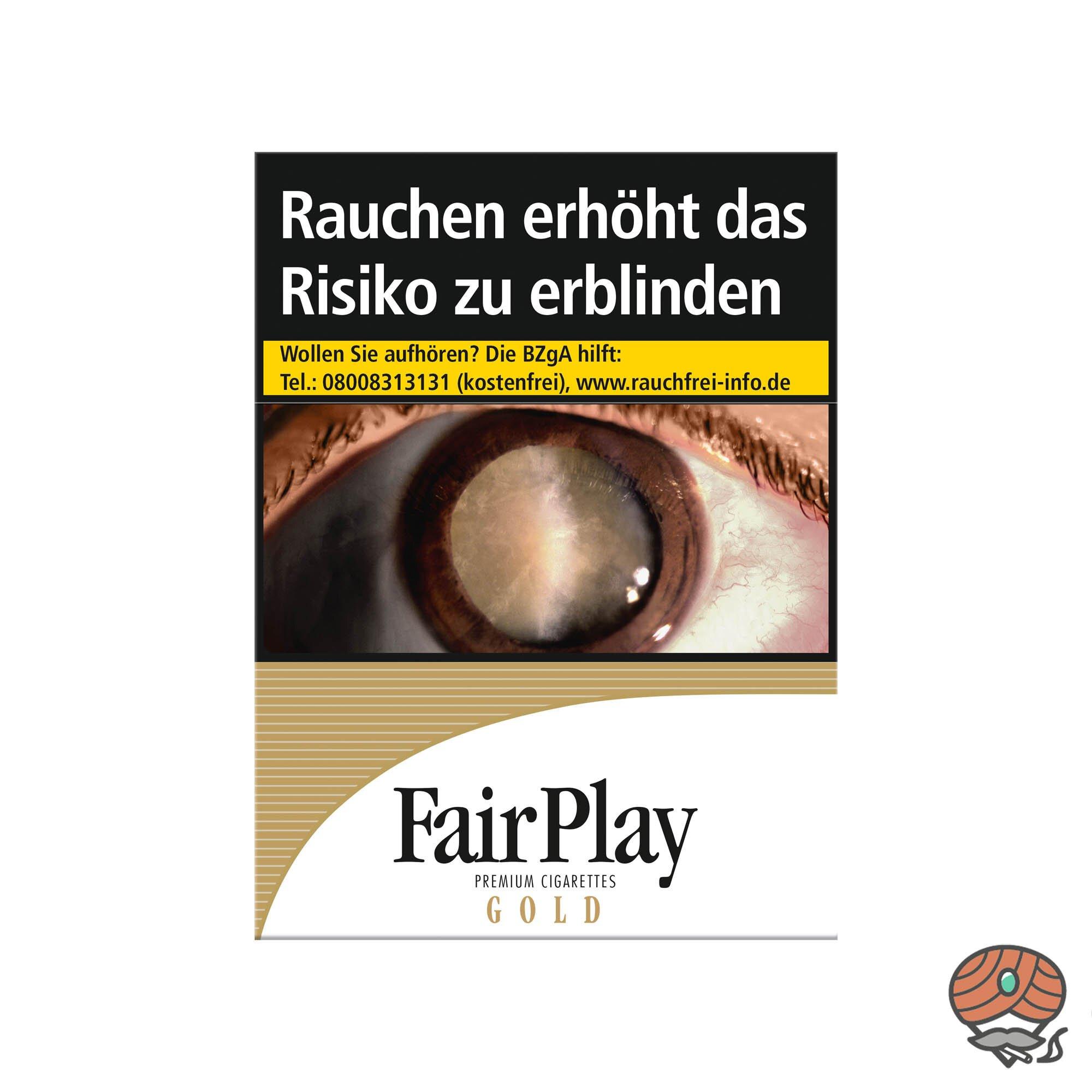 Fair Play GOLD Zigaretten XXL/Maxi Box 26 Stück