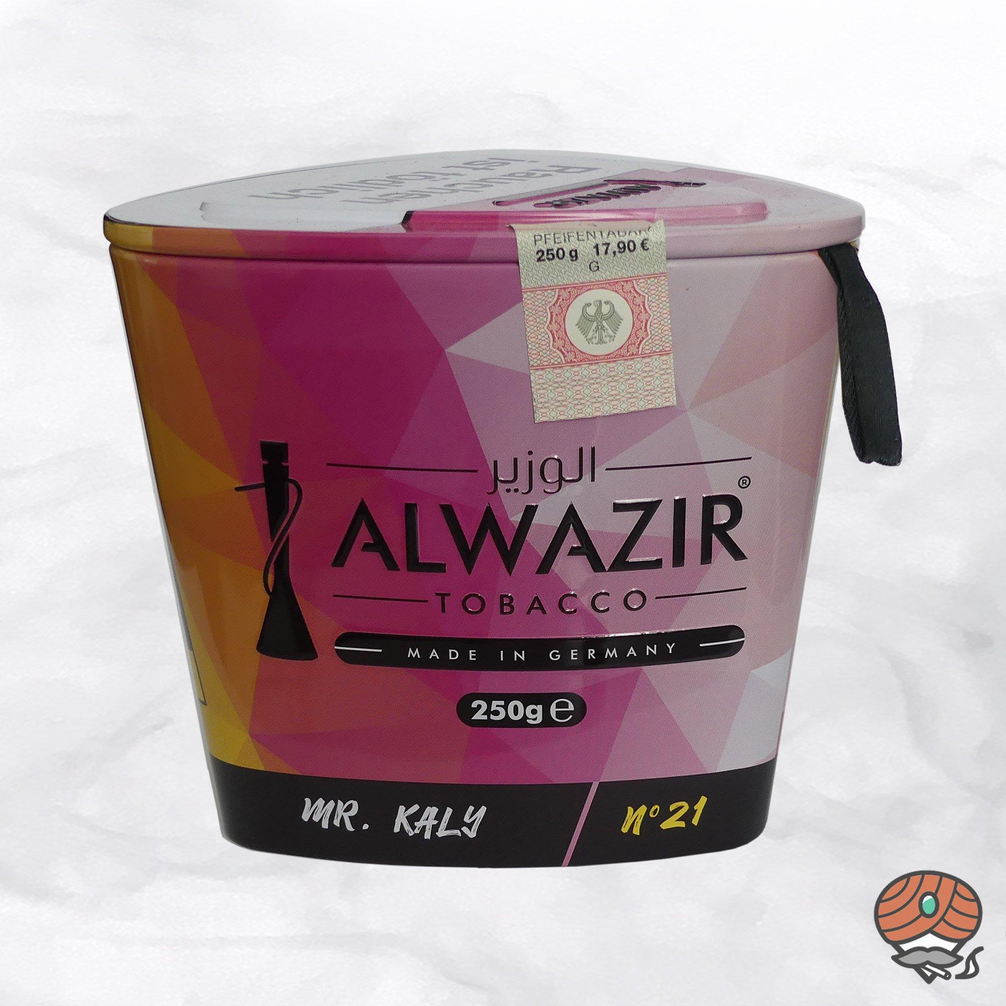 Alwazir Shisha Tabak - No. 21 - MR. KALY 250g