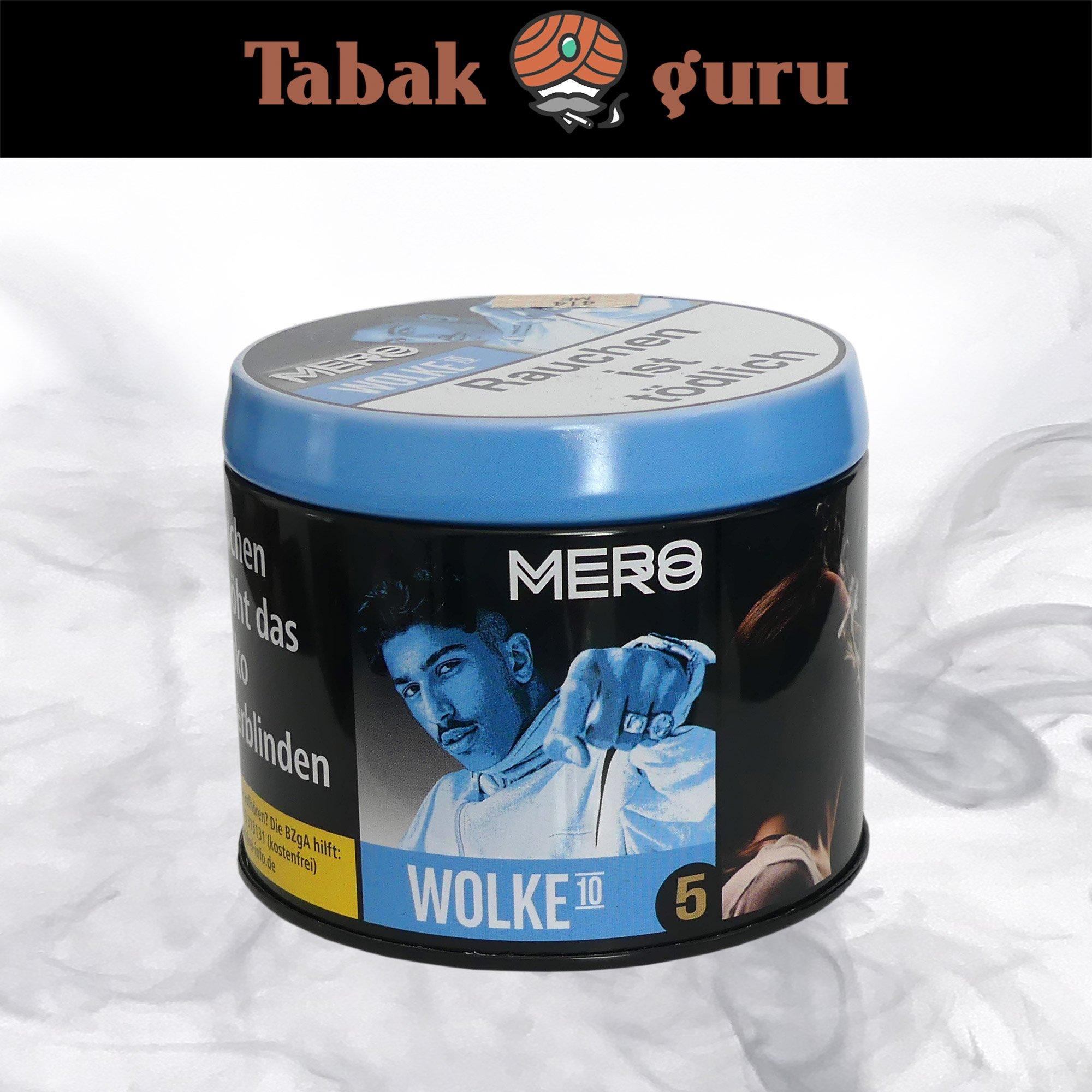 Mero Shisha Tabak - Wolke 10 200g
