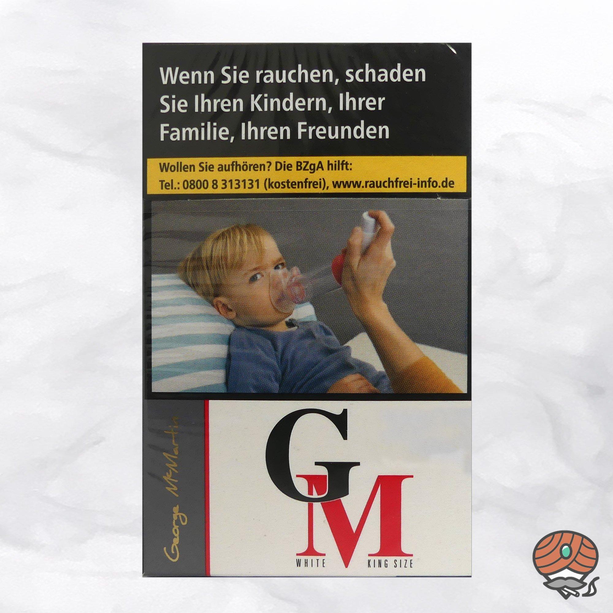 George Mc Martin (GM) White Filterzigaretten - 20 Zigaretten