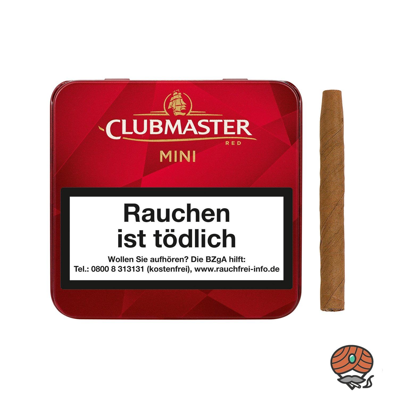 Clubmaster Mini Red No. 232 Zigarillos a 20 Stück