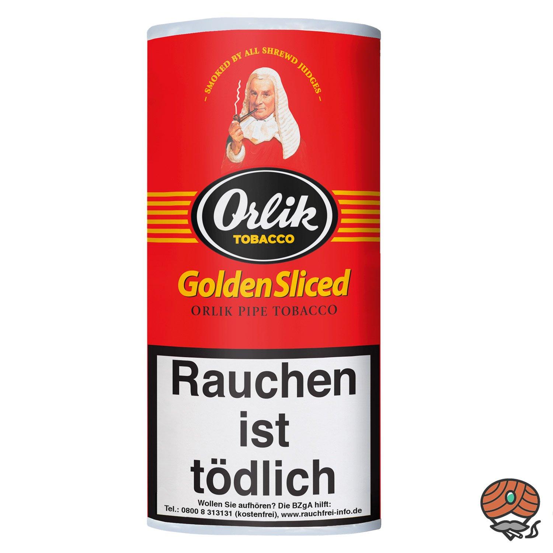 Orlik Golden Sliced Pfeifentabak 50g Pouch / Beutel