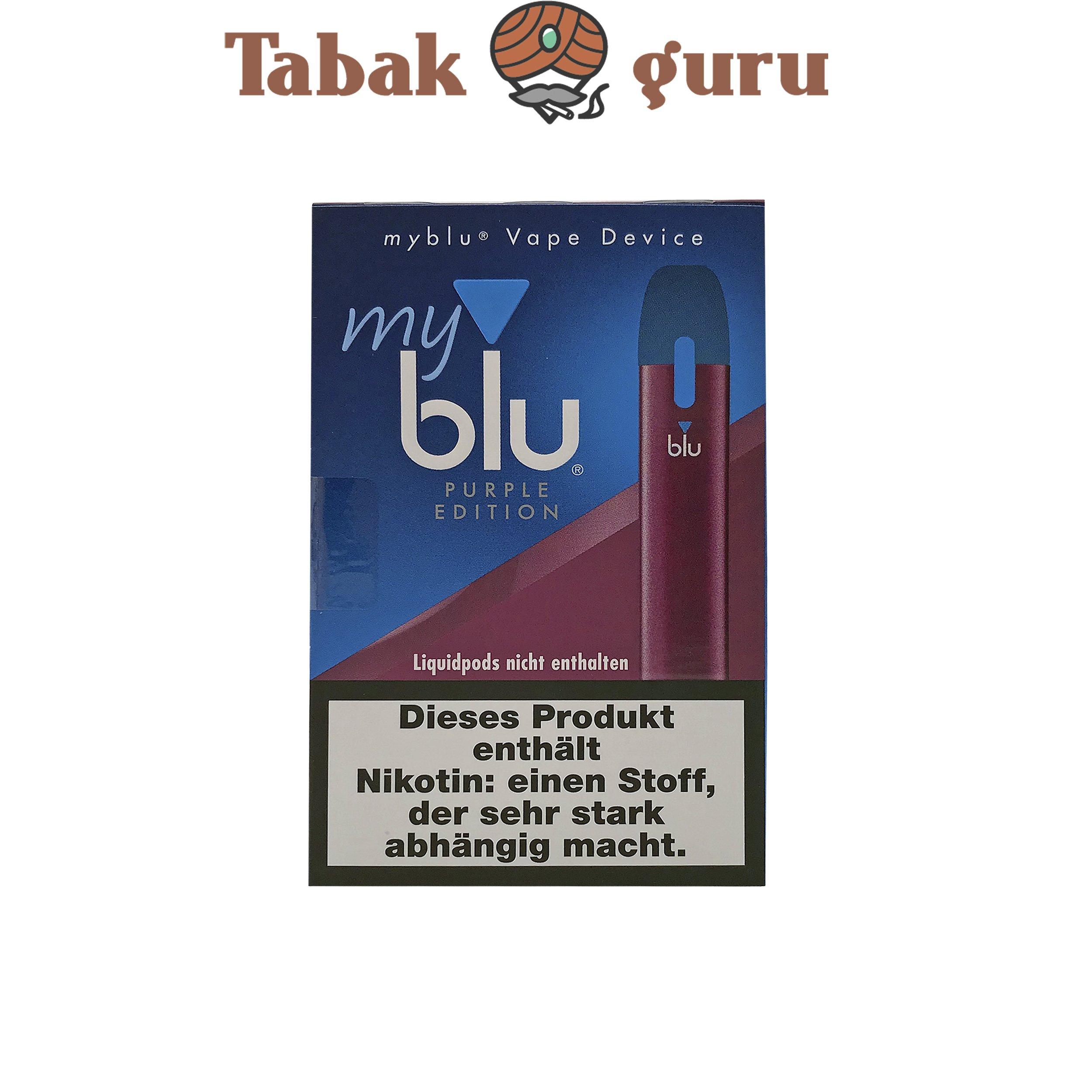 My Blu Vape Device Purple Edition