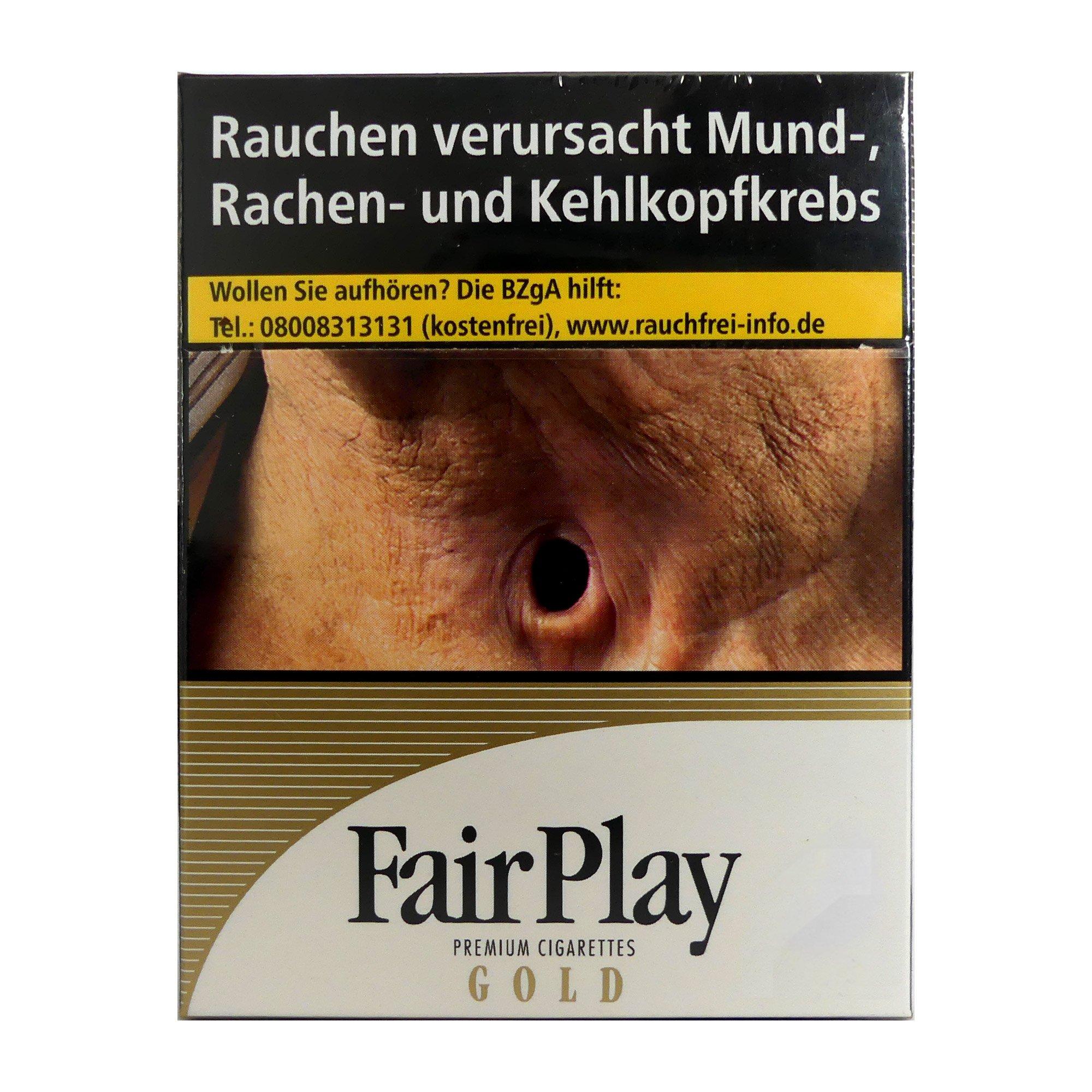 Fair Play GOLD Zigaretten XL Box 21 Stück