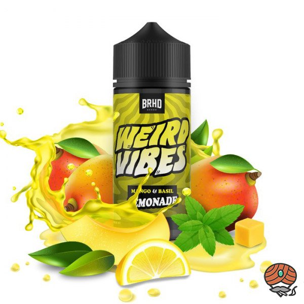 BRHD Barehead Mango & Basil Lemonade Weird Vibes, DIY Vape Aroma 20 ml Shake & Vape
