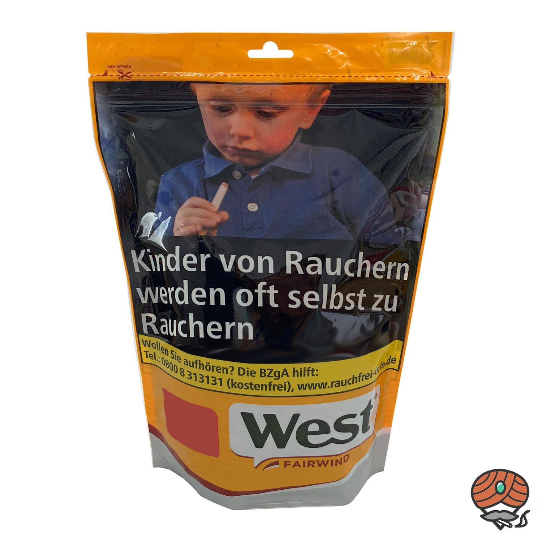 West Yellow Volumentabak Beutel 155 g