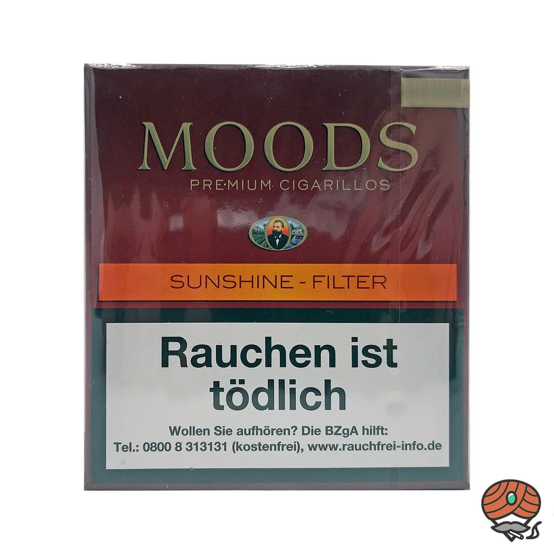 Moods Sunshine Filterzigarillos à 20 Stück