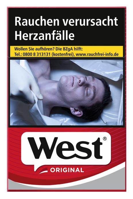 West Red Zigaretten 20 Stück