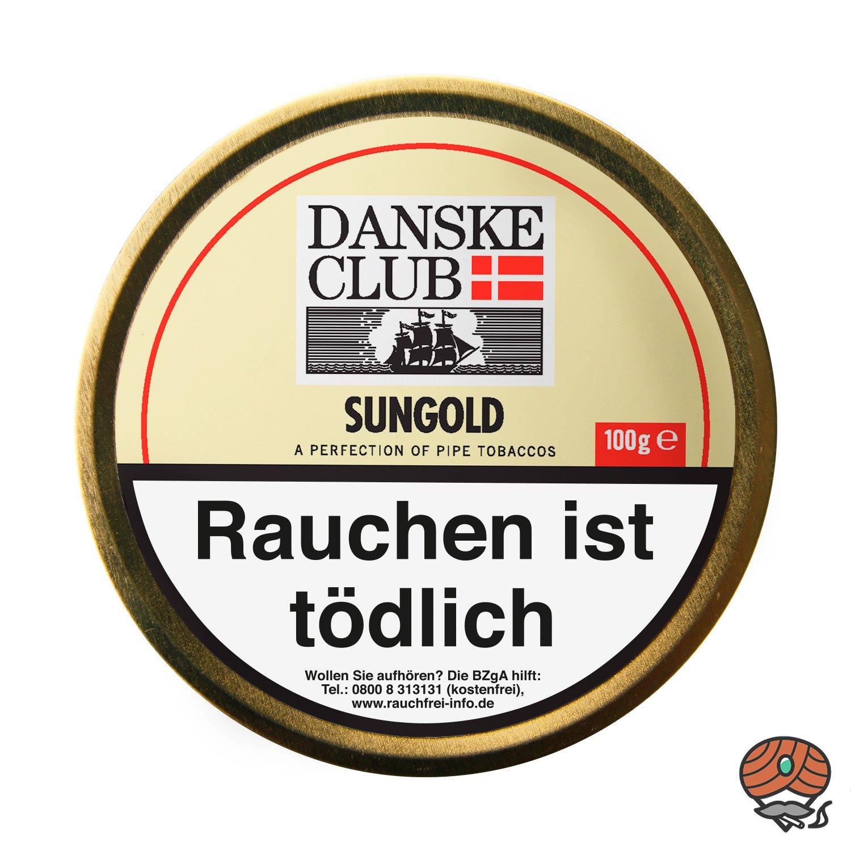 Danske Club Sungold Pfeifentabak 100g Dose