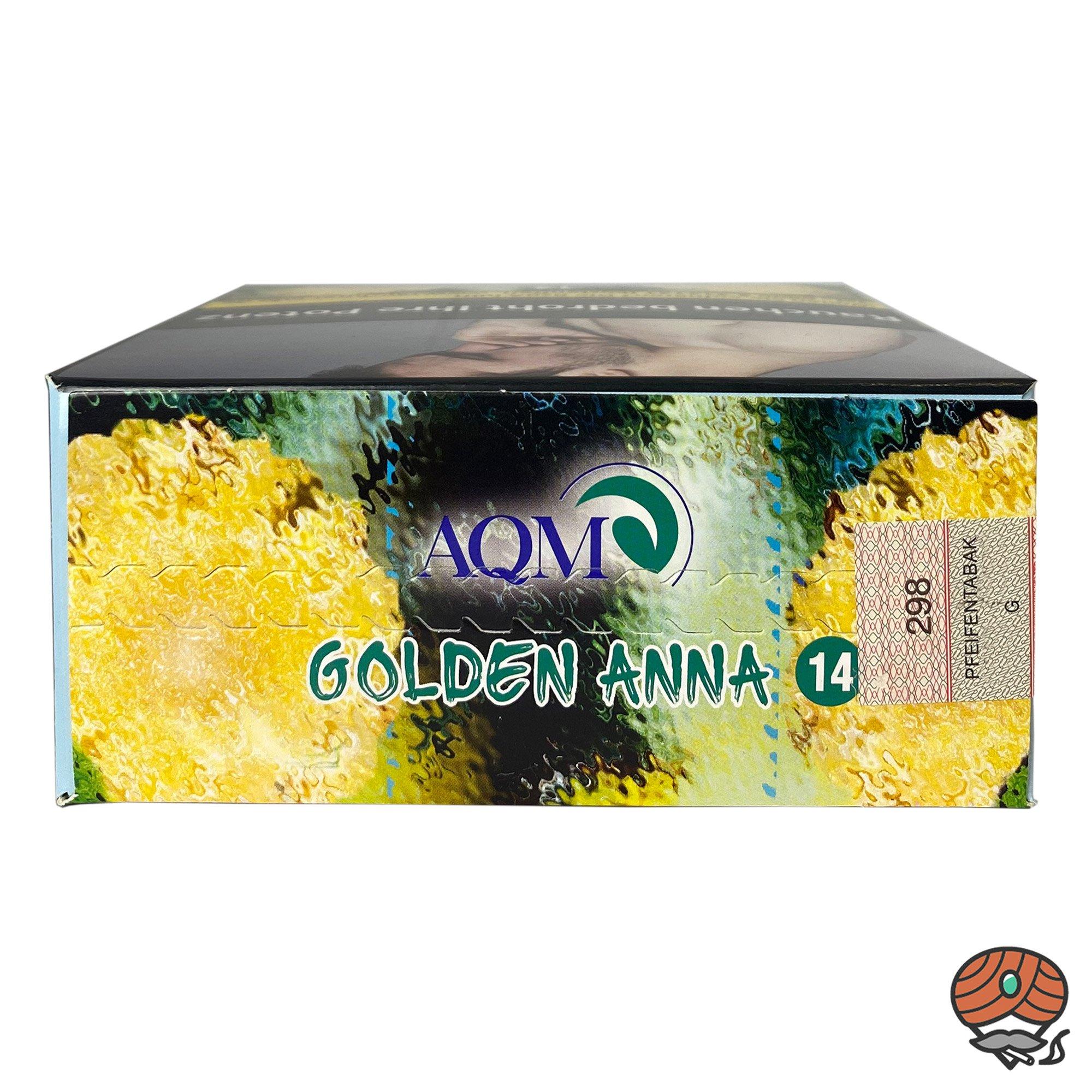 Aqua Mentha GOLDEN ANNA #14 200g Shisha Tabak (ehem. PYNAP)