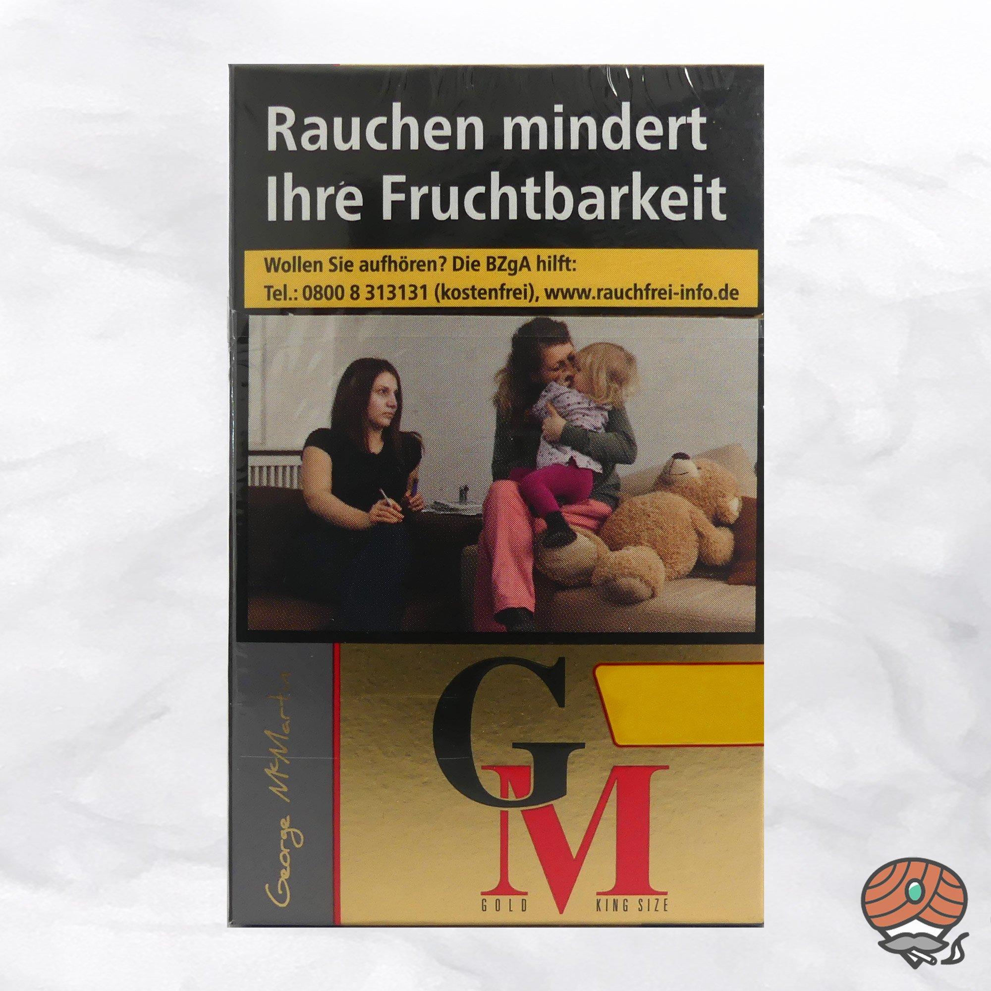 George Mc Martin (GM) Gold Filterzigaretten - 20 Zigaretten