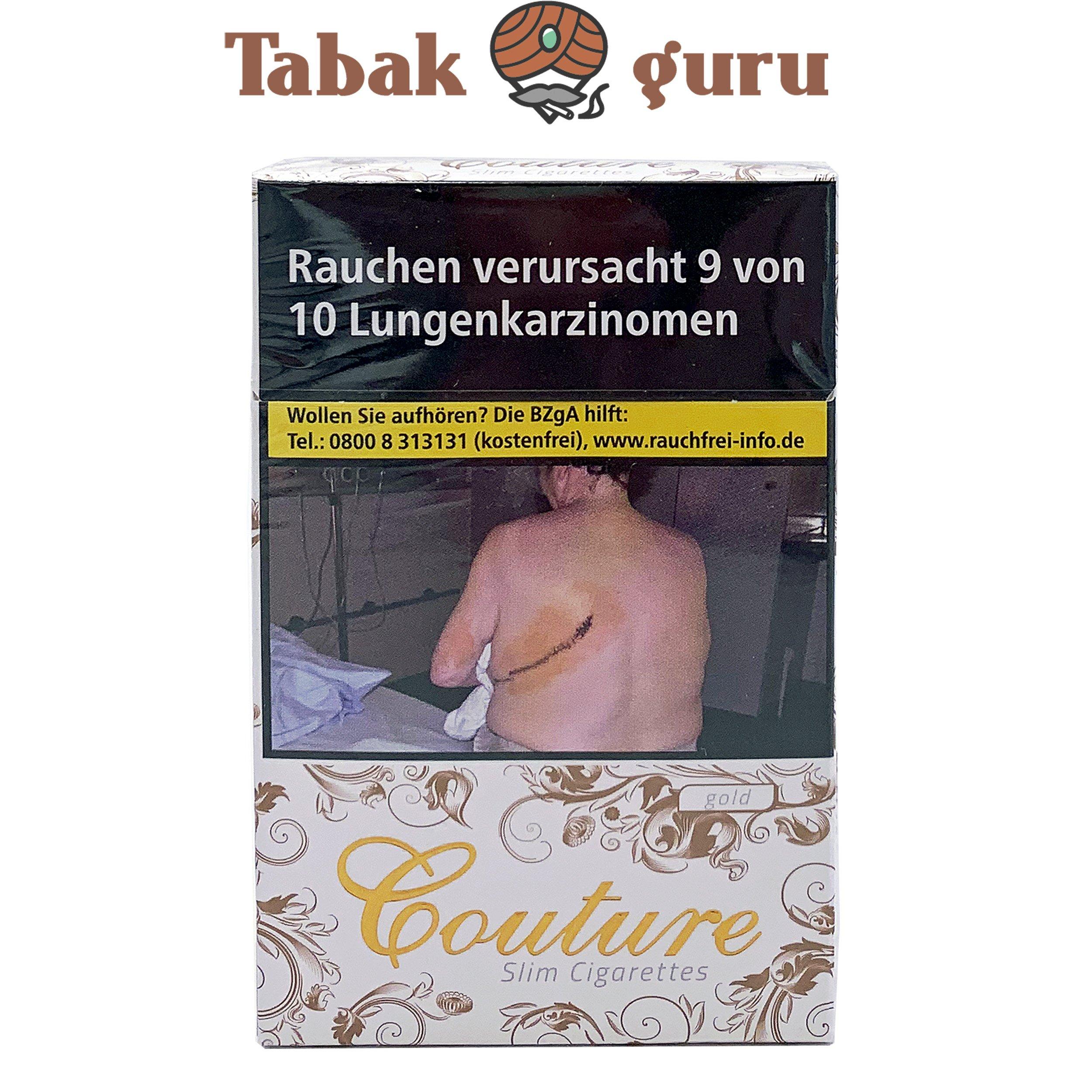 Couture Gold Slim Zigaretten
