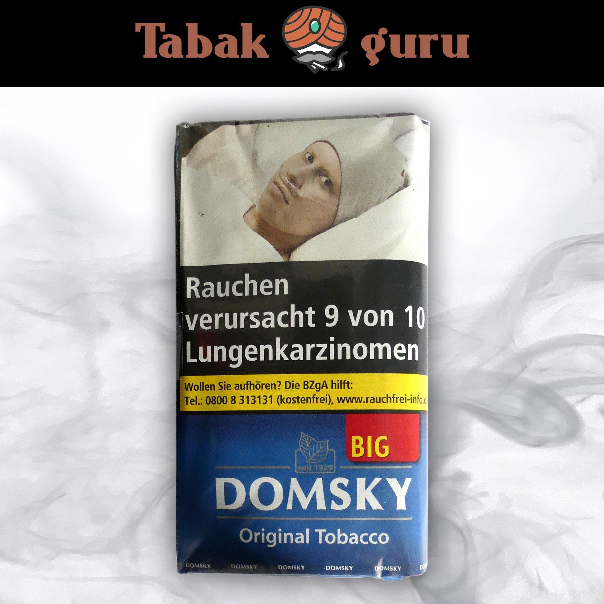 DOMSKY Original Tobacco Drehtabak BIG 50 g