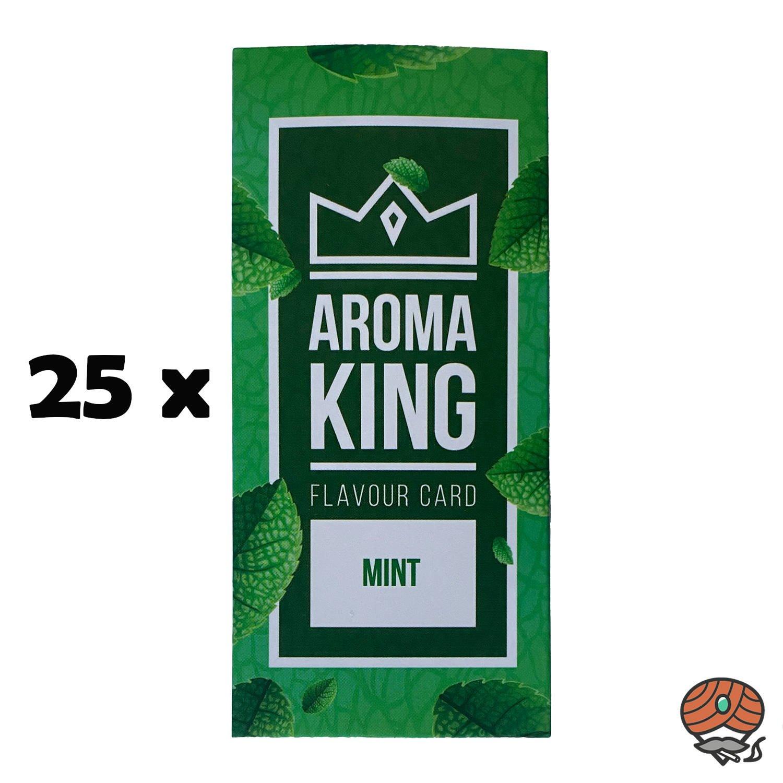 25 x Aromakarte MINT von Aroma King - Aroma für Tabak & Zigaretten