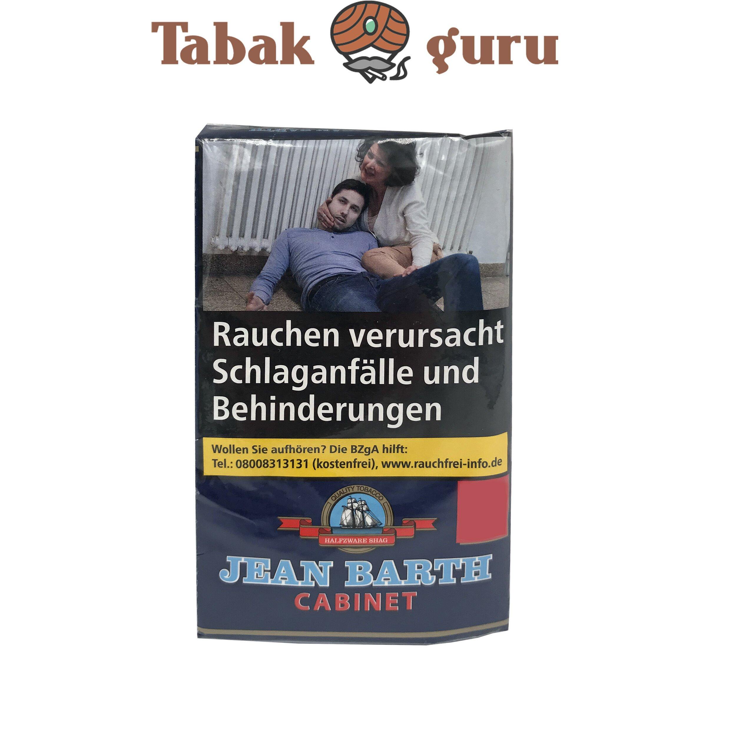 Jean Barth Cabinet Halfzware Shag 35g Drehtabak Zigarettentabak