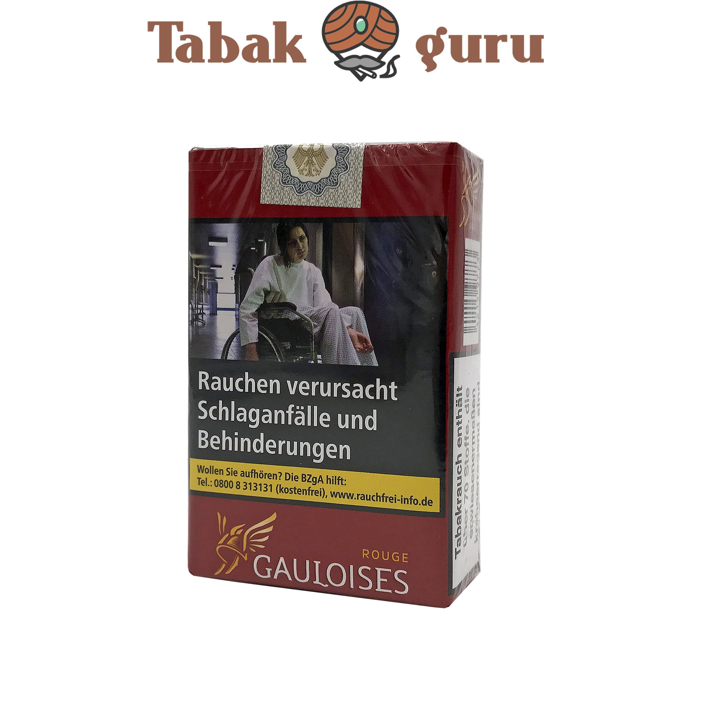 Gauloises Blondes Rot Softpack Zigaretten 20 Stück