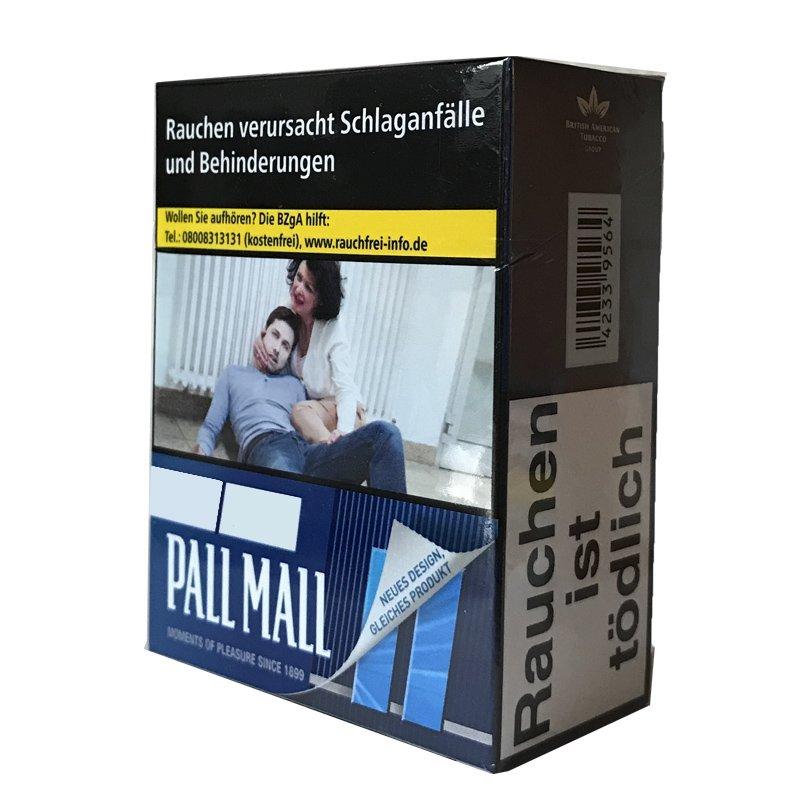 Pall Mall Blue / Blau Zigaretten Giga Box (34 Stück)