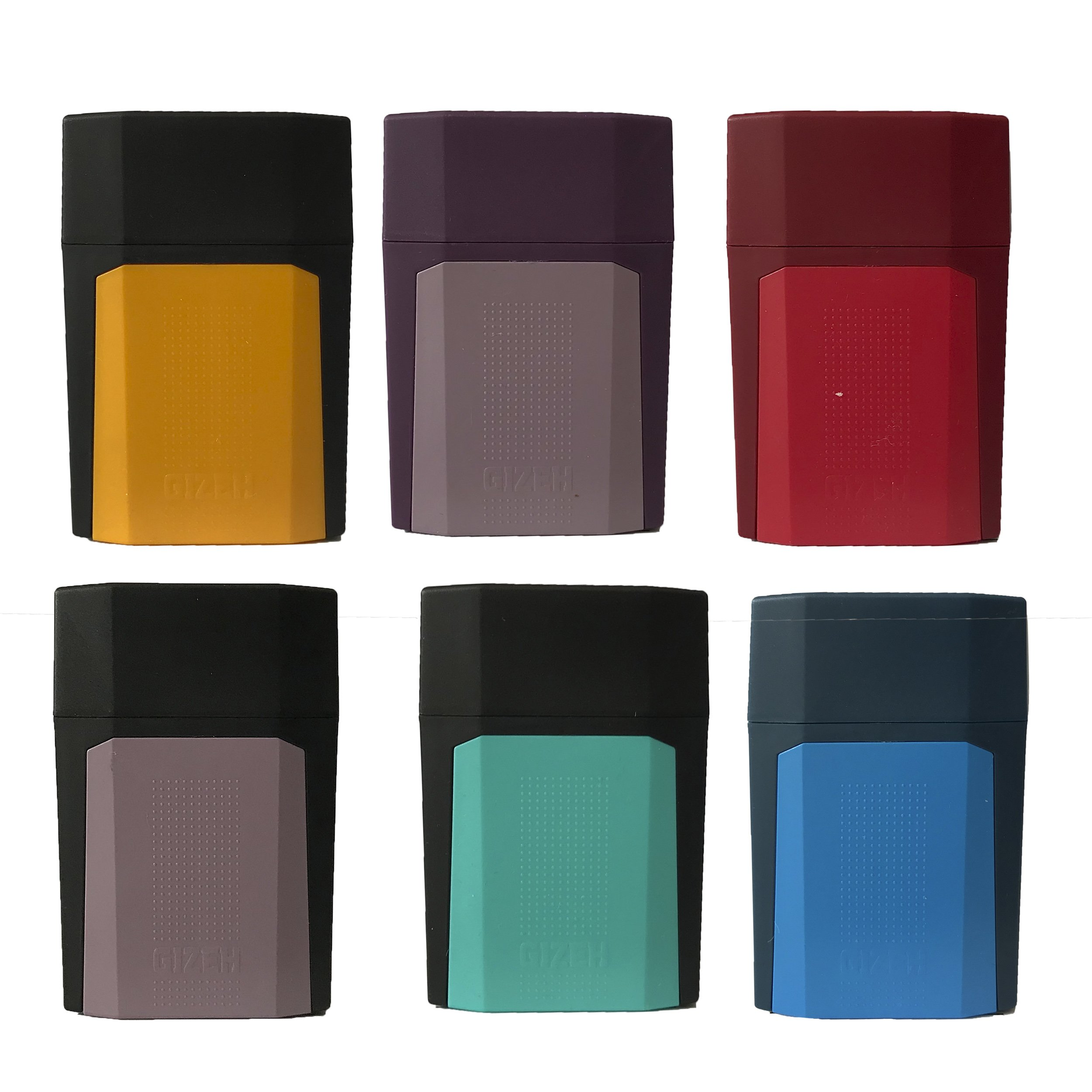 6x Gizeh Zigarettenetui´s / Gizeh Flip Cases verschiedene Farben