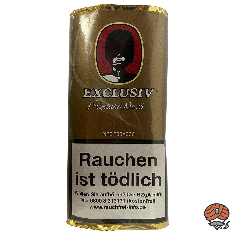EXCLUSIV Mixture No. 6 Pfeifentabak 50g Pouch